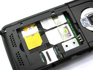 Китайский телефон K998 с тремя слотами для SIM-карт