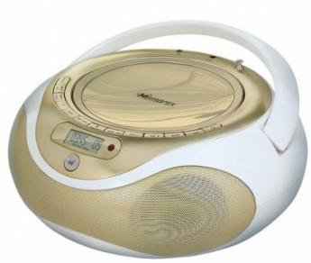 Роскошный золотой CD/MP3 магнитофон от Memorex