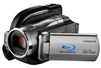 Hitachi представила гибридную Blu-ray-камеру