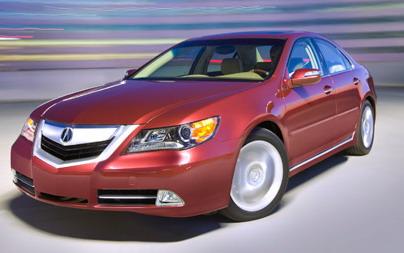 Acura RL признана самой безопасной машиной по версии IIHS