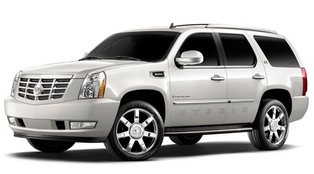 Гибрид Cadillac Escalade - от $71,685