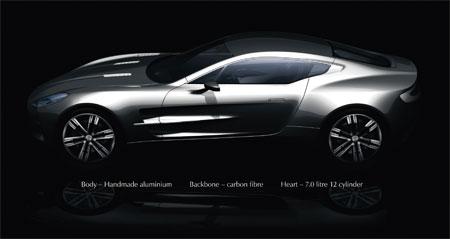 Aston Martin One-77 – машина за миллион фунтов