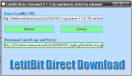 LetItBit-DirectDownloader v.1.0.