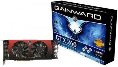 """GeForce GTX 260 в оригинальной """"золотой"""" версии Gainward"""
