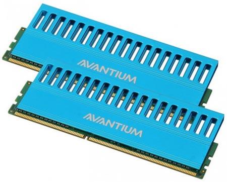 Avantium самые быстрые линейки памяти