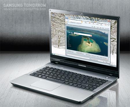 Samsung QX412 с достойной видео картой