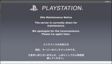 Очередное падение сервиса PlayStation Network