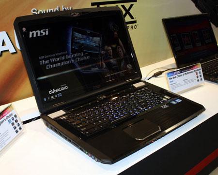 Игровой ноут MSI GT780
